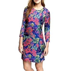 J. CREW Jules Floral Silk Dress